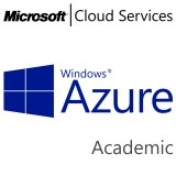 MICROSOFT Azure Subscription Services, Academic, VL Subs., Cloud, Single Language, 1 user, 1 year