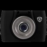 Car Video Recorder PRESTIGIO RoadRunner 133 (HD 1280x720@30 fps, 1.5 inch screen, GPDV6624, 0.3MP CMOS GC0308 image sensor, 3 MP camera (interpolated), 70° Viewing Angle, Micro USB, 120 mAh, Motion Detection, Cyclic Recording, Black, Rubber)