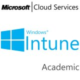 MICROSOFT Intune, Academic, VL Subs., Cloud, Single Language, 1 user, 1 year