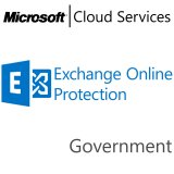 MICROSOFT Exchange Online Protection, Government, VL Subs., Cloud, 1 user, 1 year