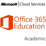 MICROSOFT Office 365 Education E4 for Faculty, Academic, VL Subs., Cloud, Single Language, 1 user, 1 year