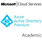 MICROSOFT Azure Active Directory Premium, Academic, VL Subs., Cloud, Single Language, 1 user, 1 year