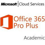 MICROSOFT Office 365 Professional Plus, Academic, VL Subs., Cloud, Single Language, 1 user, 1 year