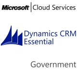 MICROSOFT Dynamics CRM Online Essential, Government, VL Subs., Cloud, 1 user, 1 year