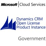 MICROSOFT Dynamics CRM Online Production Instance, Government, VL Subs., Cloud, 1 user, 1 year