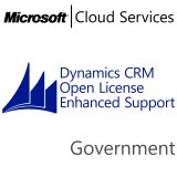 MICROSOFT Dynamics CRM Online Enhanced Support, Government, VL Subs., Cloud, 1 user, 1 year