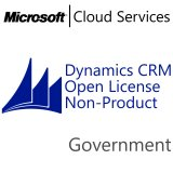 MICROSOFT Dynamics CRM Online Non-Production, Government, VL Subs., Cloud, 1 user, 1 year