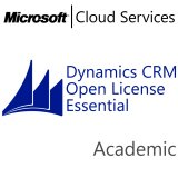 MICROSOFT Dynamics CRM Online Essential, Academic, VL Subs., Cloud, Single Language, 1 user, 1 year