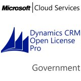 MICROSOFT Dynamics CRM Online Professional, Government, VL Subs., Cloud, 1 user, 1 year