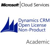 MICROSOFT Dynamics CRM Online Non-Production, Academic, VL Subs., Cloud, Single Language, 1 user, 1 year