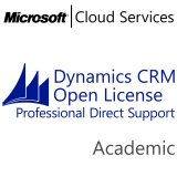 MICROSOFT Dynamics CRM Online Professional Direct Support, Academic, VL Subs., Cloud, Single Language, 1 user, 1 year