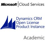 MICROSOFT Dynamics CRM Online Production Instance, Academic, VL Subs., Cloud, Single Language, 1 user, 1 year