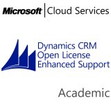 MICROSOFT Dynamics CRM Online Enhanced Support, Academic, VL Subs., Cloud, Single Language, 1 user, 1 year