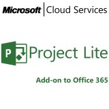 MICROSOFT Project Lite Open, Business, VL Subs., Single Language, 1 user, 1 month