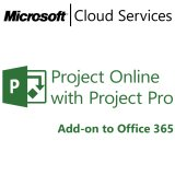 MICROSOFT Project Online with Project Pro, Business, VL Subs., Windows, 1 license, 1 month