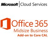 MICROSOFT Office 365 Midsize, Business, VL Subs., Android, Cloud, Mac OS, Windows, iOS, All Languages, 1 user, 1 month
