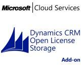 MICROSOFT Dynamics CRM Online Storage, Business, VL Subs., Cloud, Single Language, 1 user, 1 month