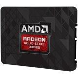 """AMD Radeon R3 SATA III 480GB SSD, 2.5"""" 7mm, SATA 6 Gbit/s, Read/Write: 530 MB/s / 470 MB/s, Random Read/Write IOPS 82K/28K, PN# R3SL480G"""