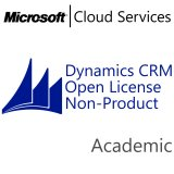 MICROSOFT Dynamics CRM Online Non-Production, Academic, VL Subs., Cloud, All Languages, 1 user, 1 month