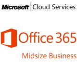 MICROSOFT Office 365 Midsize, Business, VL Subs., Mac OS, Windows, All Languages, 1 user, 1 month