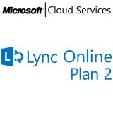 MICROSOFT Lync Online Plan 2, Business, VL Subs., Cloud, All Languages, 1 user, 1 month