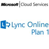 MICROSOFT Lync Online Plan 1, Business, VL Subs., Android, Cloud, Windows, iOS, 1 user, 1 month