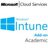 MICROSOFT Intune Add-On, Academic, VL Subs., Cloud, Single Language, 1 user, 1 year