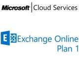 MICROSOFT Exchange Online Plan 1, VL Subs., Cloud, Single Language, 1 user, 1 month