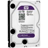 HDD AV WD Purple (3.5', 3TB, 64MB, RPM IntelliPower, SATA 6 Gb/s)