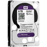 HDD AV WD Purple (3.5', 6TB, 64MB, RPM IntelliPower, SATA 6 Gb/s)