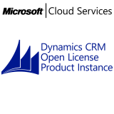 MICROSOFT Dynamics CRM Online Production Instance, VL Subs., Cloud, Single Language, 1 user, 1 year