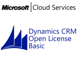 MICROSOFT Dynamics CRM Online Basic, VL Subs., Cloud, Single Language, 1 user, 1 year