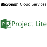 MICROSOFT Project Lite, VL Subs., Cloud, Single Language, 1 user, 1 year