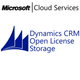 MICROSOFT Dynamics CRM Online Storage, VL Subs., Cloud, Single Language, 1 user, 1 year