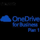MICROSOFT OneDrive Plan 1, Business, VL Subs., Cloud, Single Language, 1 user, 1 year