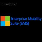 MICROSOFT Enterprise Mobility Suite, VL Subs., Cloud, Single Language, 1 user, 1 year