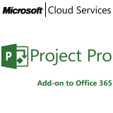 MICROSOFT Project Professional, VL Subs., Cloud, Single Language, 1 user, 1 year