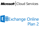 MICROSOFT Exchange Online Plan 2, VL Subs., Cloud, Single Language, 1 user, 1 year