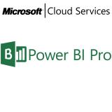 MICROSOFT Power BI Professional, VL Subs., Cloud, Single Language, 1 user, 1 year