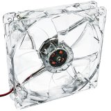 System Fan Akyga AW-12A-BR 12cm LED red