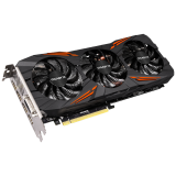 GIGABYTE Video Card GeForce GTX 1080 GAMING GDDR5X 8GB/256bit, 1695MHz/10010MHz, PCI-E 3.0 x16, HDMI, DVI-D, 3xDP, WINDFORCE 3X Cooler RGB(Double Slot), Backplate, Retail