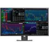 Monitor DELL Professional P4317Q 42.51' Multi-Client, 3840 x 2160, UHD 4K, IPS Antiglare, 16:9, 1000:1, 350cd/m2, 8ms, 178/178, DP, Mini DP, 2x HDMI, VGA, 5xUSB3.0, RS232, Headphone out, 2x 8W Speakers, Tilt, 3Y
