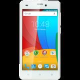 "Prestigio WIZE  M3 5.0"" HD IPS, Dual sim, Android 5.1, Quad Core 1,2GHz, 1280*720, 4GB eMMC,512MB RAM, 0.3+8.0Mpx with LED flash, 2000mAh, White"