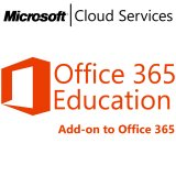 MICROSOFT Office 365 Education E3 for Faculty, Academic, VL Subs., iOS, Android, Mac OS, Windows, Cloud, All Languages, 1 user, 1 month