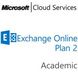 MICROSOFT Exchange Online Plan 2, Academic, VL Subs., Cloud, All Languages, 1 user, 1 month