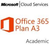 Office365PlanA3OpenFaculty ShrdSvr ALNG SubsVL OLV E 1Mth Acdmc AP