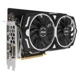 MSI Video Card GeForce GTX 1060 GDDR5 6GB/192bit, 1544MHz/8008MHz, PCI-E 3.0 x16, 3xDP, HDMI, DVI-D, ARMOR 2X Cooler(Double Slot), Retail