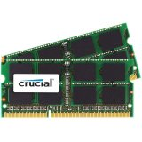 Crucial 16GB Kit (2 x 8GB) DDR3L-1600 SODIMM Memory for Mac