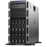 Dell PowerEdge T430 Tower, 2S, Xeon E5-2620 v4 2.1GHz, 1x8GB RDIMM, HDD 2.5'' 300GB 10K, PERC H730 1GB, 3.5