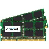 CRUCIAL 16GB kit (8GBx2) DDR3L 1866 MT/s  (PC3-14900) CL13 SODIMM 204pin 1.35V for Mac